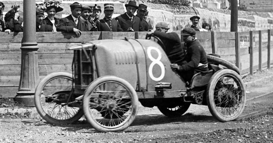 Giosuè Giuppone auf Lion Peugeot