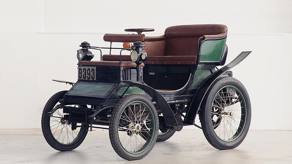 Peugeot Type 26 aus dem Jahr 1900