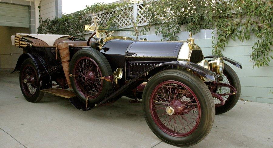 Peugeot 145 S Torpedo Tourer – Baujahr 1914 - Detail