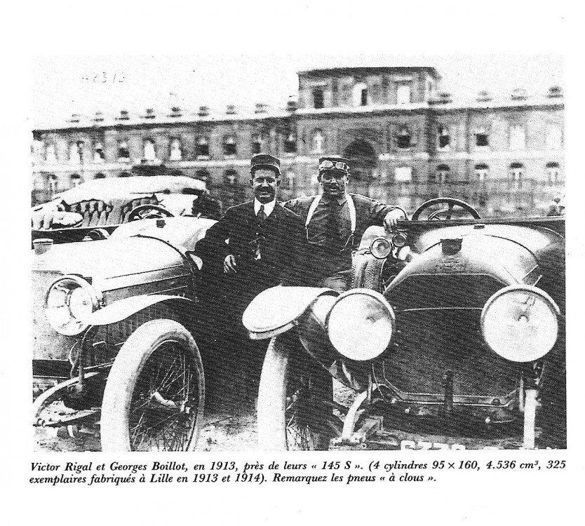 Peugeot 145 S Torpedo Tourer – Baujahr 1914