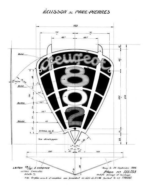 Logo Peugeot 802