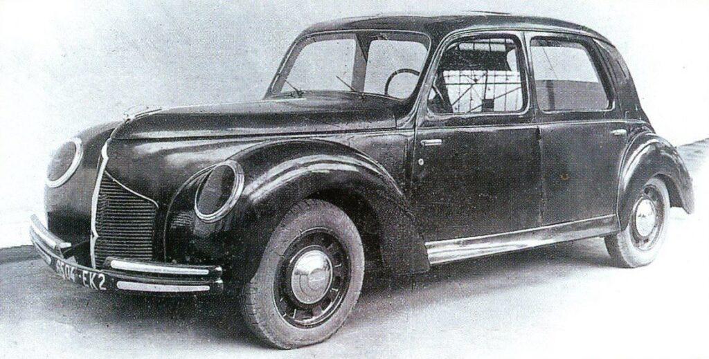"""Prototyp des für die 1940er Jahre geplanten """"Typ 802"""""""