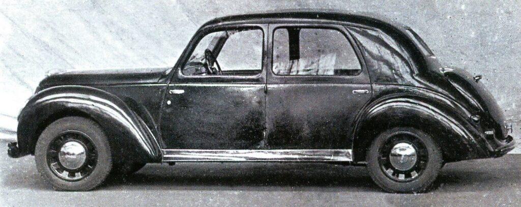 """Prototyp des geplanten """"802"""" - Seitenansicht"""