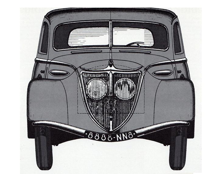 Zeichnung Peugeot 802