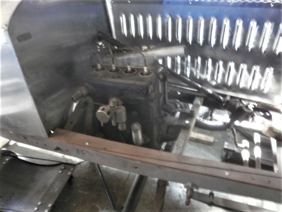 Peugeot Typ 163 BR Speedster - Motor