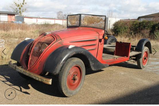Peugeot-Utiliar Typ MK 5, Baujahr 1938