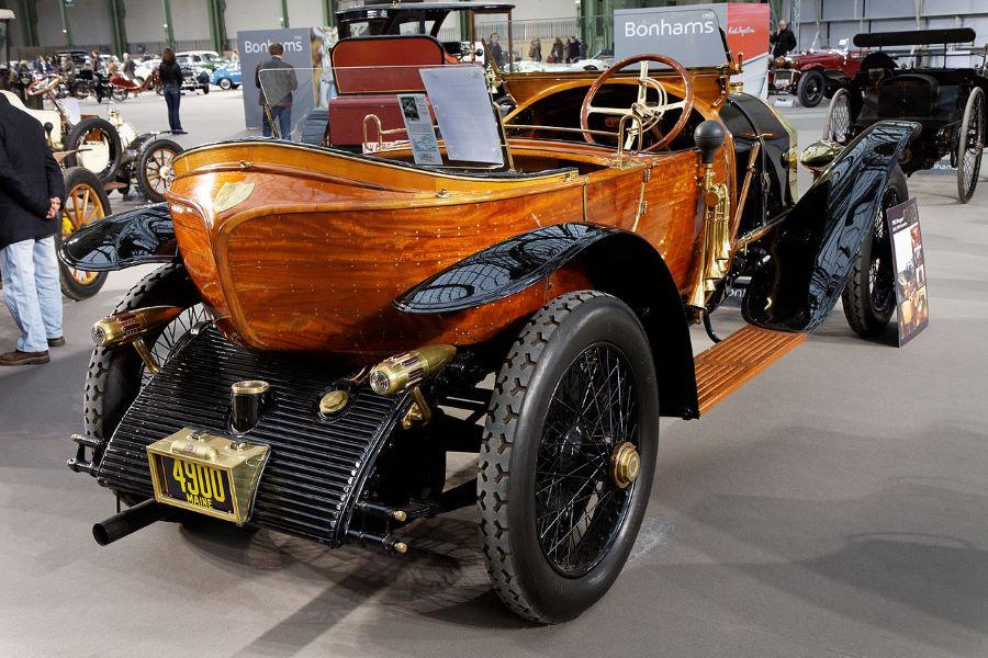 """Peugeot Typ 150 Labourdette """"Skiff"""" Heckansicht"""