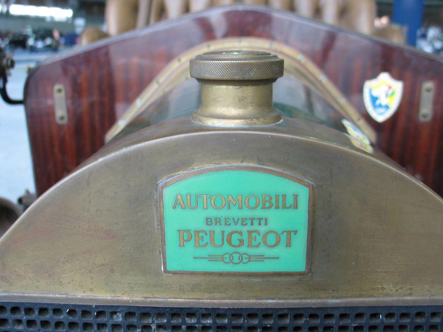 Kühler PEUGEOT-CROIZAT – Lizenz-Produktion in Italien von 1905 – 1907