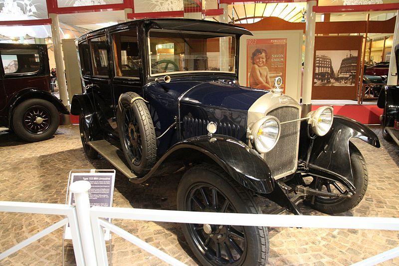 Typ 153 BRA im Musee Peugeot