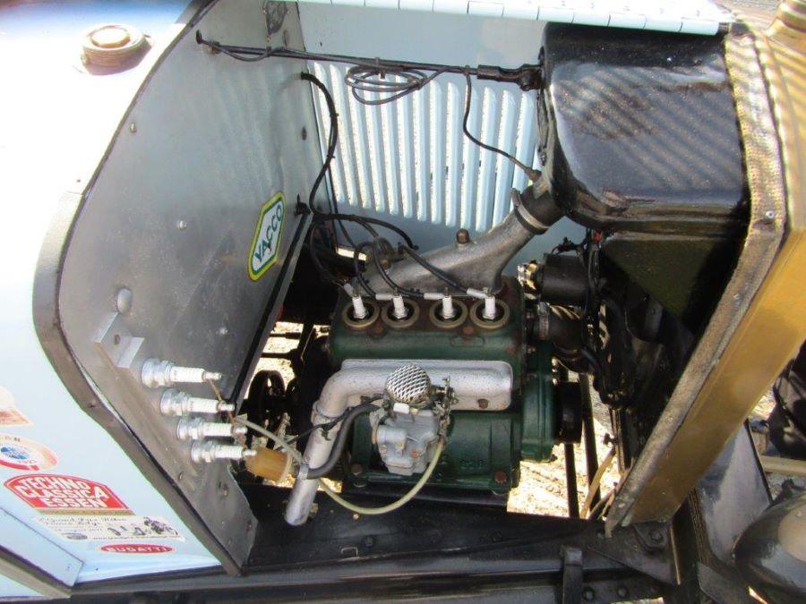 "Motoransicht Peugeot Typ 172 BS ""Grand Sport"""