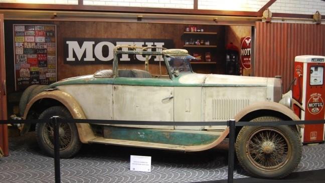 So stand der Peugeot 176 von 1974 - 2015 im Museum