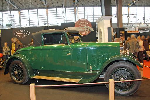 Peugeot Typ 176 Cabriolet aus dem Jahr 1926 mit einer Karosserie von ETS Charles Felber