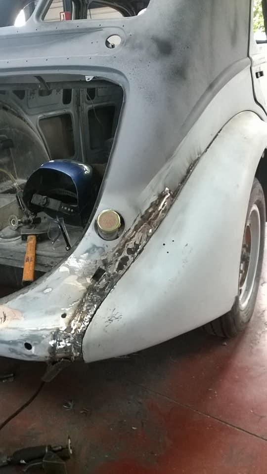 Peugeot Typ 302 - Restaurierung