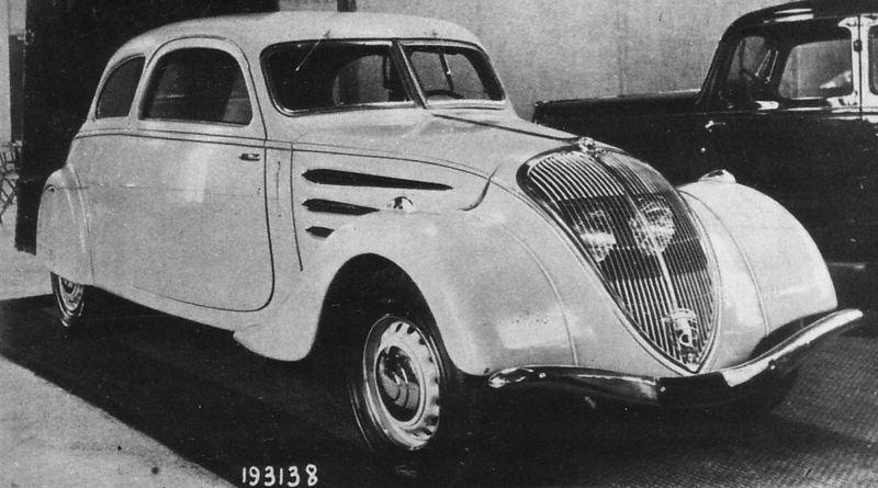 """Peugeot 402 Coupe (G4) - offizielle Bezeichnung """"Coach"""""""