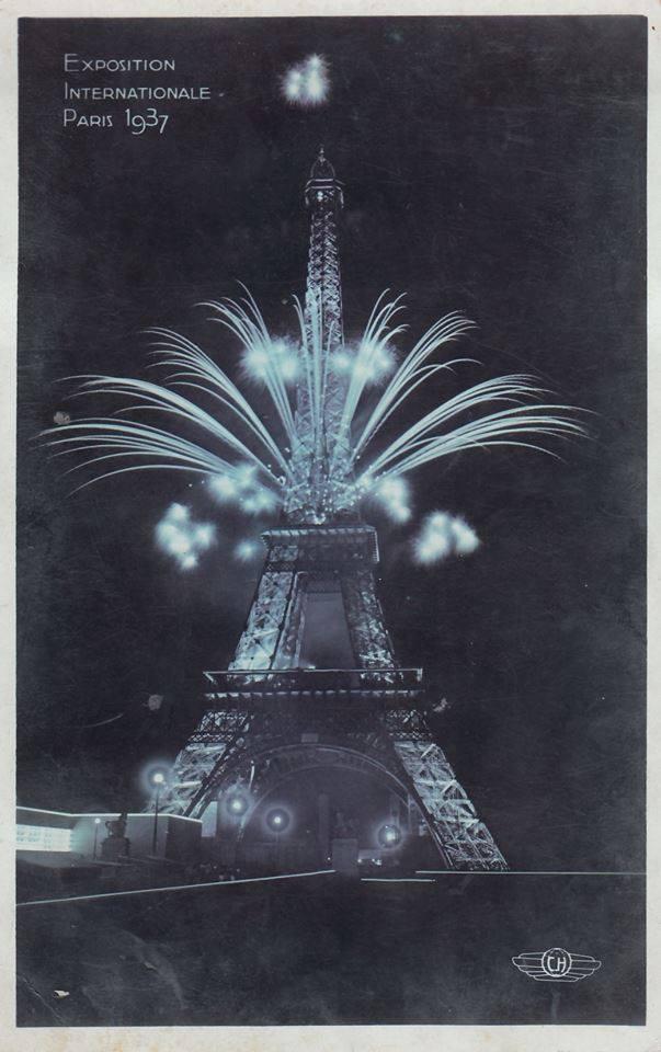Plakate Exposition Internationale Paris 1937