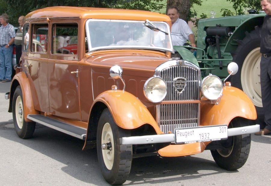 Peugeots 301 C, Baujahr 1932