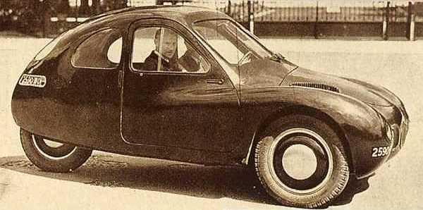 Mathis VL 333 - Prototyp im Jahr 1946