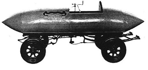 """""""Jamais contente"""" - """"die nie Zufriedene"""" - erstes Fahrzeug, das schneller als 100 Mph war, mit Elektroantrieb"""