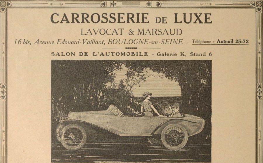 Werbeanzeige Lavocat & Marsaud