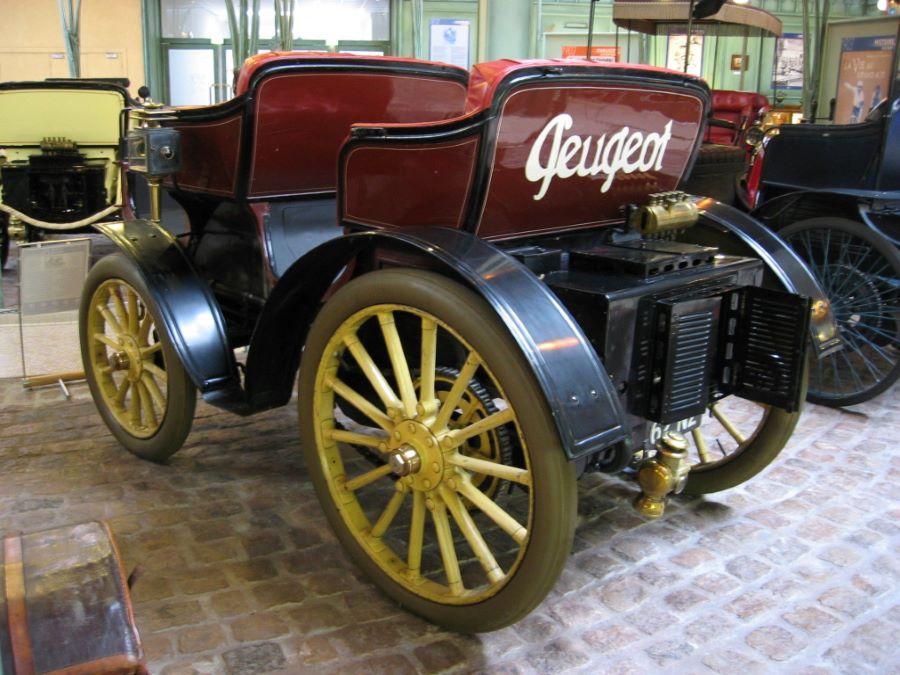 Peugeot Typ 15 - 1897/1902 - Rückansicht