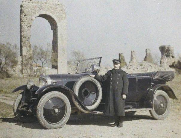 Voisin C 3, 1922 - wie der Peugeot Typ 174 ein Fahrzeug mit ventillosem Schiebermotor