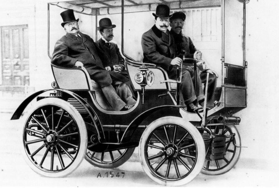 Peugeot Typ 15 - 1897/1902 - zeitgenössisches Foto