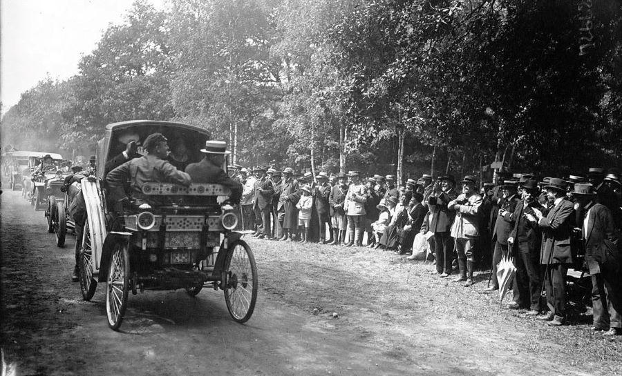 Peugeot Typ 4 - Dieses Bild entstand bei einem Einsatz im Jahr 1919