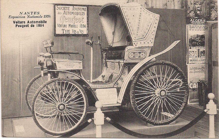 Peugeot Typ 4 - Bei der Ausstellung in Nantes im Jahr 1924