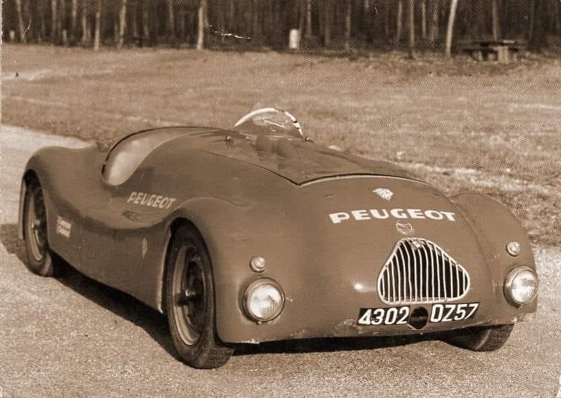 "Peugeot 402 ""Barchetta Escalles"""