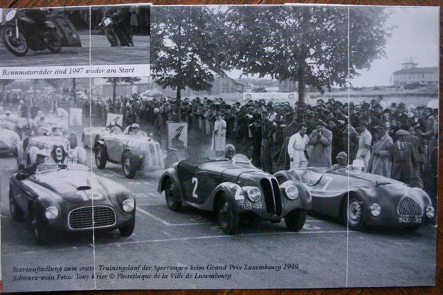 402 Escalles mit DarlMat-Technik beim GP von Luxemburg im Jahr 1949