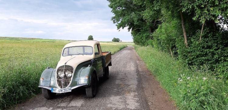 Peugeot 202 UH, Baujahr 1949