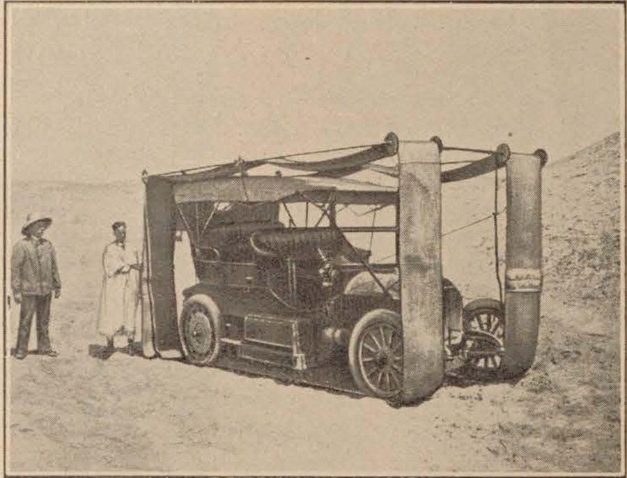 "Peugeot Typ 93 ""Autochenille"" von G. Liégeard (1908)"