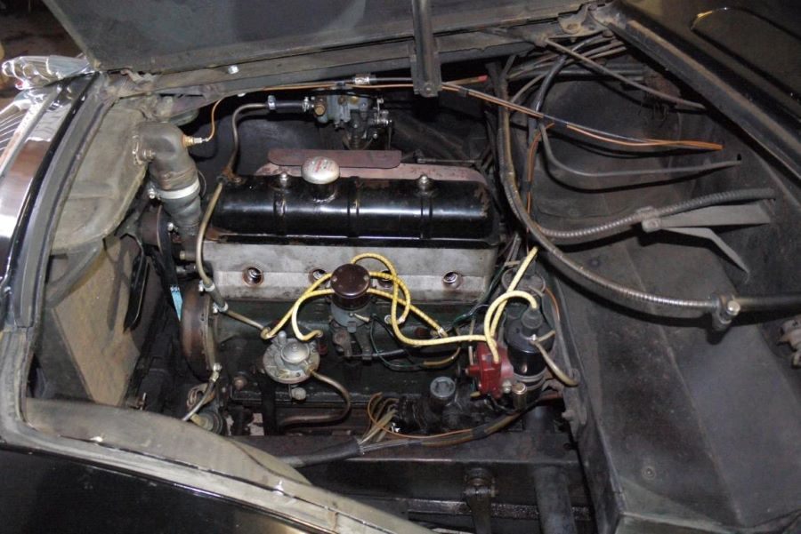 Peugeot 402 Motor