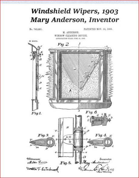Patentskizze Scheibenwischer