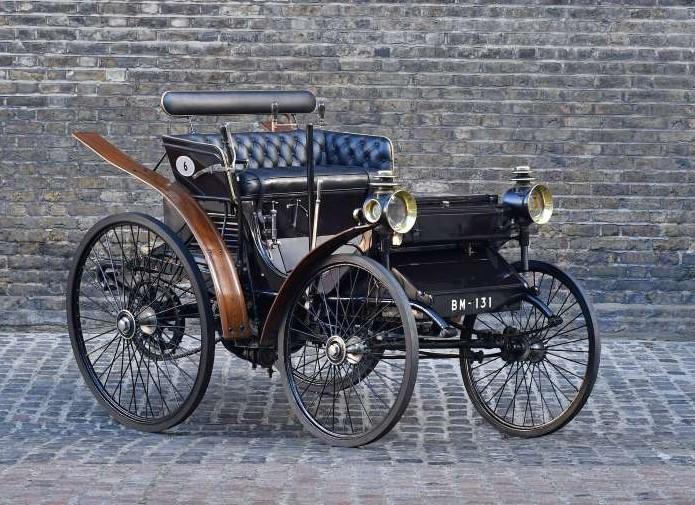 Peugeot Typ 5 aus dem Jahr 1894