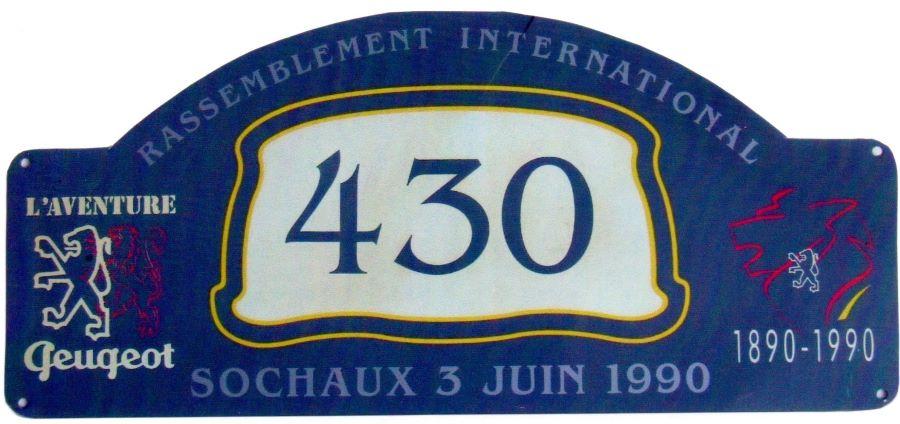 Teilnehmer Startnummer 100 Jahre Peugeot Motorfahrzeuge