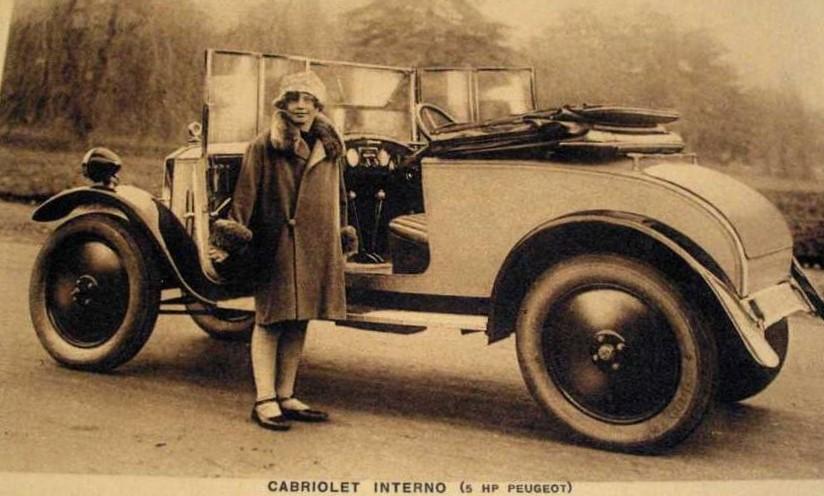 Peugeot Typ 172 R als Cabriolet