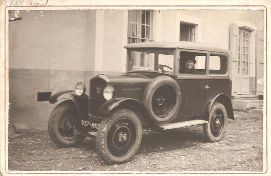 Peugeot Typ 172 R als Berline