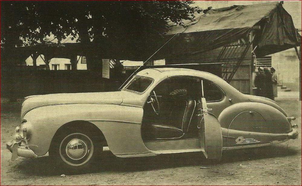 """Peugeot 302/402 – Sonderkarosserie """"Coupe"""""""