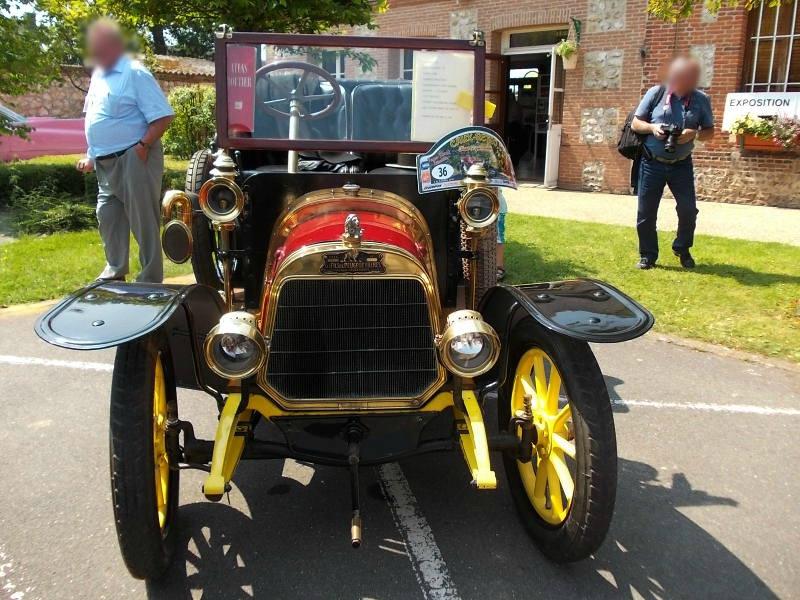 Lion-Peugeot V2C2, Bj. 1910 Front