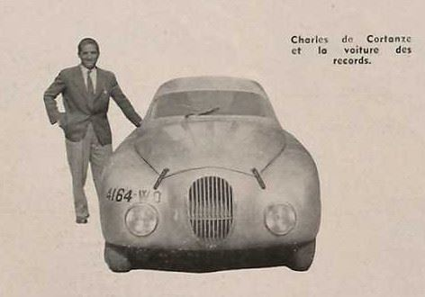 202 Darl'Mat Spécial - mit dem Fahrer Charles de Cortanze