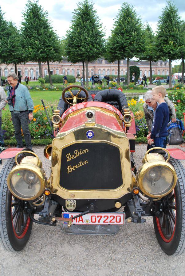 De Dion - Button Rennwagen aus dem Jahr 1908