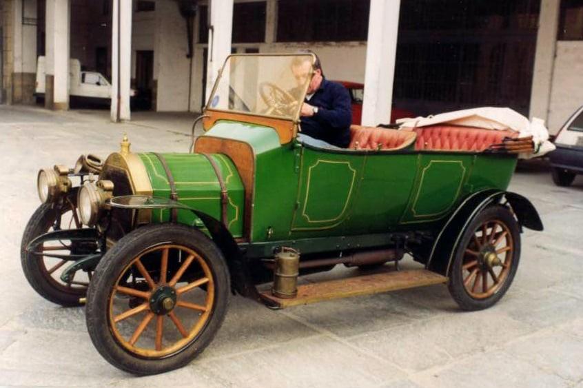 Peugeot Typ 125 aus dem Jahr 1909