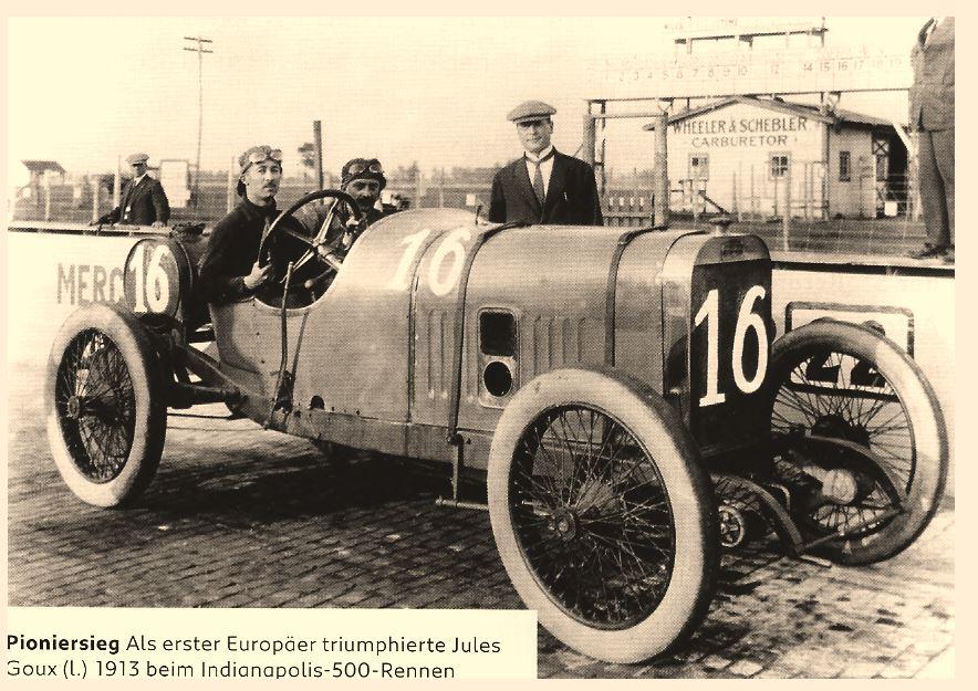 Jules Goux 1913 Indianapolis