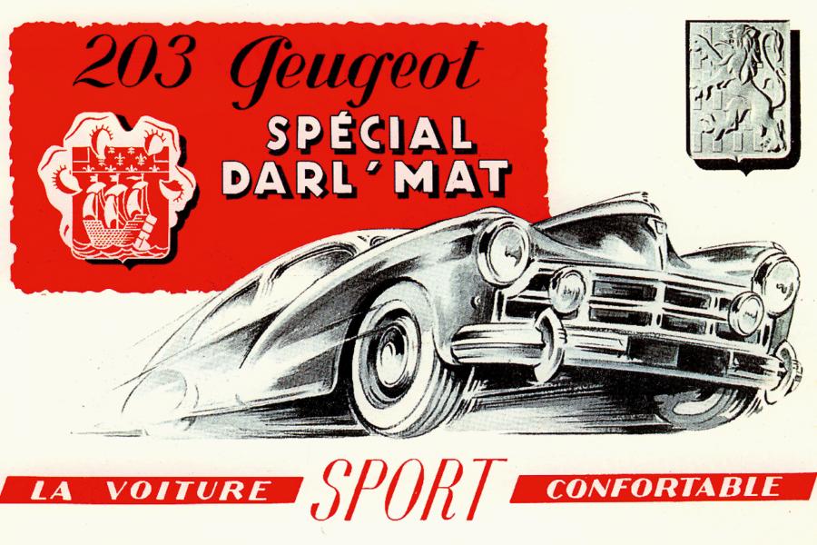 Peugeot 203 Darl'mat Coupé