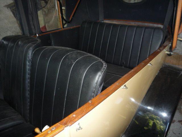 Innenansicht Peugeot Typ 173 S