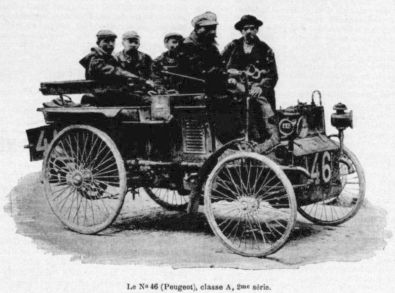 Peugeot mit der Startnummer 46