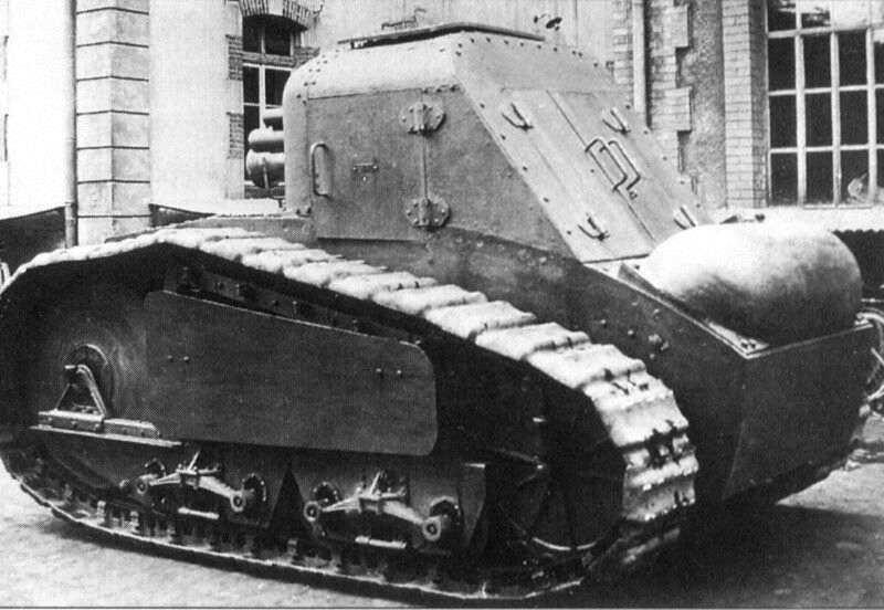 Peugeot Panzer - Prototyp im Jahr 1918