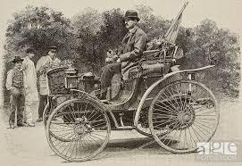 Zweisitzer-Peugeot von Louis Rigollet
