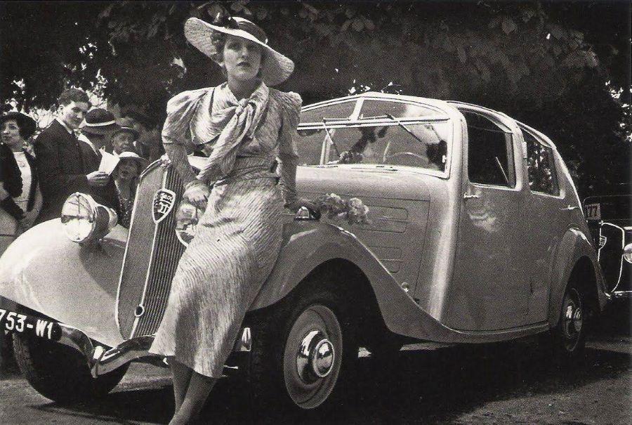 Der 601 Aeroprofile wurde beim Concours 1934 von Mlle. Josette Cortez vorgestellt